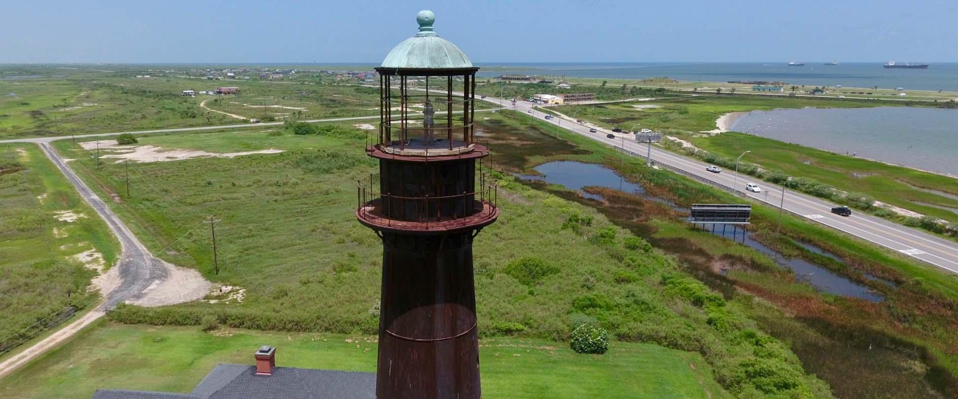 donate bolivar point lighthouse